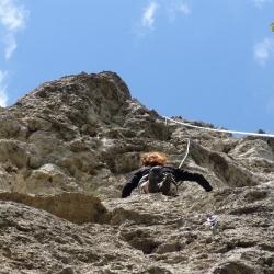 Klettern  am  Sauzahn, Laussa