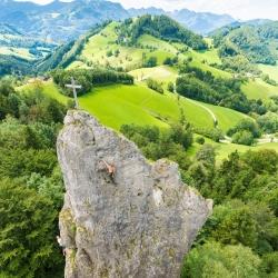 Klettern  am  Sauzahn  - Laussa