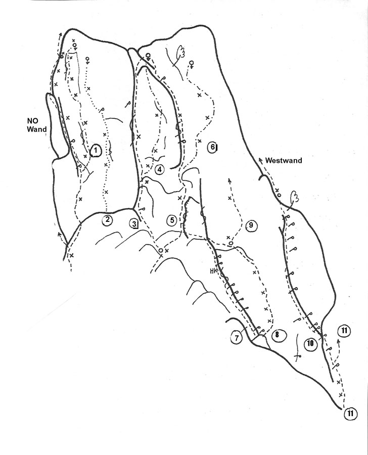 Nordwestwand