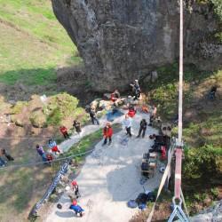 Klettern Camp Sibley