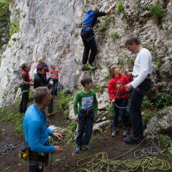 Kletter Opening Beisteinwand (c) Jakob Gsöllpointner